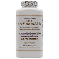 Acemannan-M.D.® 135 Grams - Powder <br> 1 Standard large bottle