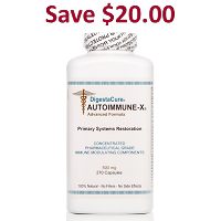DigestaCure® AUTOIMMUNE-X® <br> 270 - 500 mg Capsules <br> Auto-ship: Price per bottle: $149.00